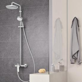 Grohe Tempesta Cosmopolitan System 210 Duschsystem mit Einhandmischer für Wandmontage