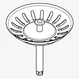 Grohe Universal Siebkorbventil für Küchenspüle