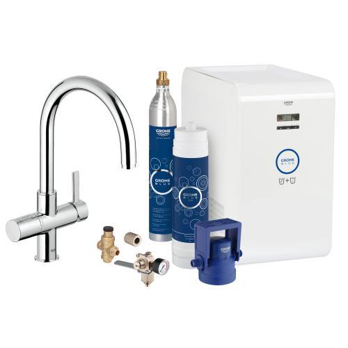 grohe blue professional starter kit c auslauf chrom 31323001 reuter. Black Bedroom Furniture Sets. Home Design Ideas