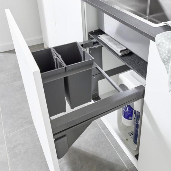 Grohe Blue Home & Blue Professional & Red Mülltrennsystem 60 cm, Inhalt: 2 x 8 Liter