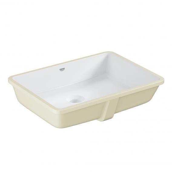 Grohe Cube Keramik Unterbauwaschtisch, weiß, mit PureGuard Hygieneoberfläche