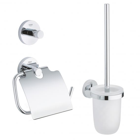 Grohe Essentials WC-Set 3 in 1 chrom
