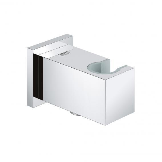 Grohe Euphoria Cube Wandanschlussbogen, mit Brausehalter chrom