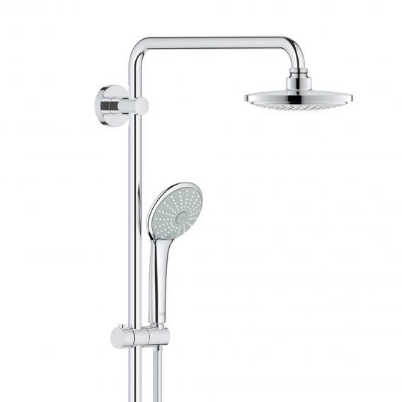 Grohe Euphoria System 180 E Duschsystem mit Thermostatbatterie für die Wandmontage
