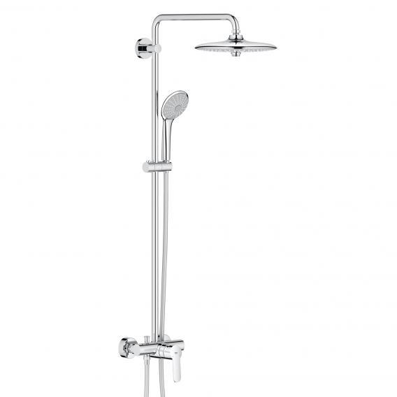 Grohe Euphoria System 260 Duschsystem mit Einhandmischer für Wandmontage, EcoJoy