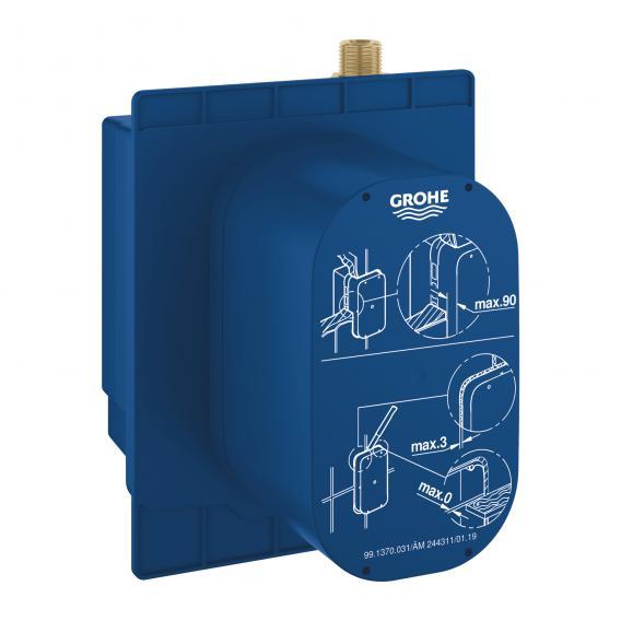 Grohe Euroeco Cosmopilitan E Unterputz-Einbaukasten, zum Anschluss an vorgemischtes Wasser oder Kaltwasser