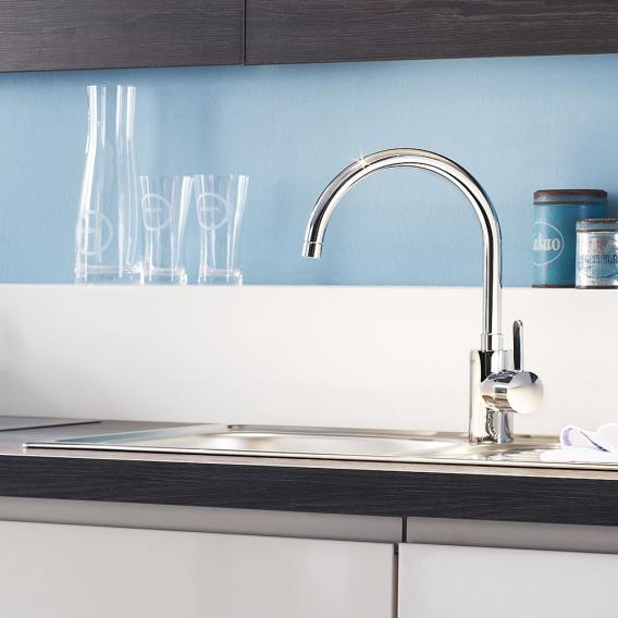Grohe Eurosmart Cosmopolitan Einhand-Spültischbatterie, für offene Warmwasserbereiter