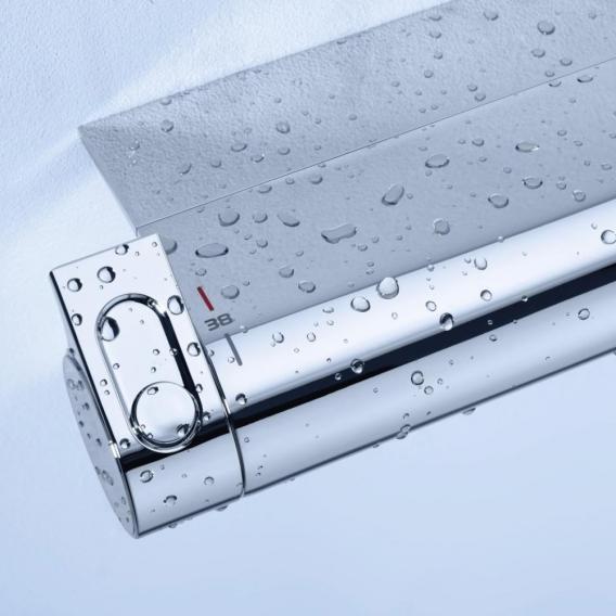 Grohe Grohtherm 2000 Thermostat-Brausebatterie, DN15 für Wandmontage mit Duschablage