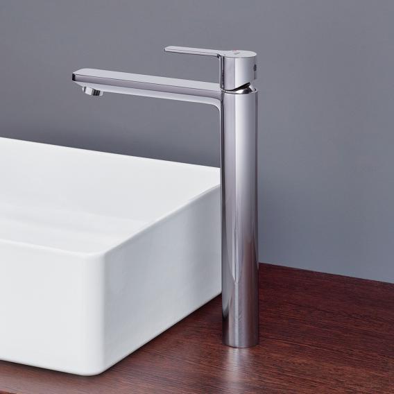 Grohe Lineare Einhand-Waschtischbatterie, für freistehende Waschschüsseln, XL-Size ohne Ablaufgarnitur, chrom