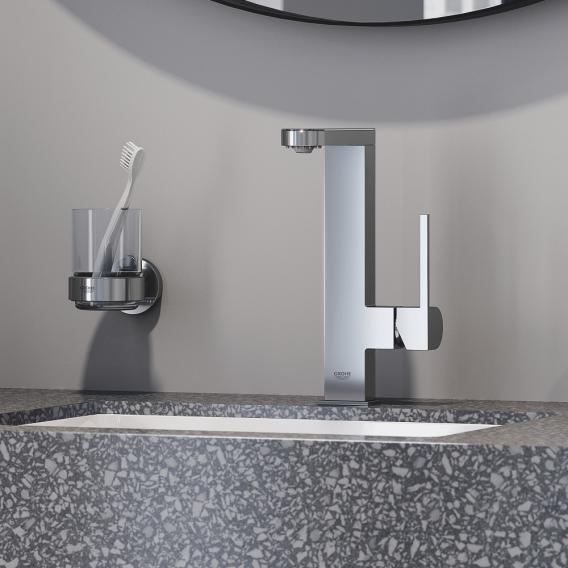 Grohe Plus Einhand-Waschtischbatterie mit digitalem LED-Display L-Size