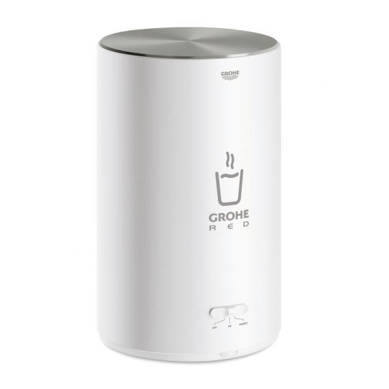 Grohe Red MONO die NEUE Küchenarmatur mit Filterfunktion für kochend heißes Wasser, C-Auslauf supersteel