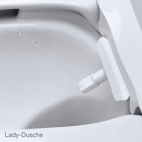 Grohe die NEUE Sensia Arena Dusch-WC Komplettanlage für Unterputzspülkästen, Wandmontage weiß