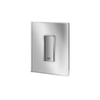 Grohe Skate Cosmopolitan Urinal-Betätigungsplatte chrom/moon white