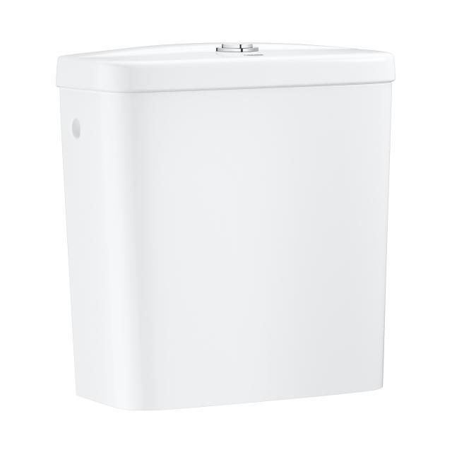 Grohe Bau Keramik Aufsatz-Spülkasten, Anschluss seitlich, weiß