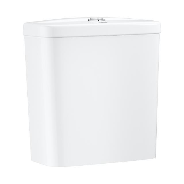 Grohe Bau Keramik Aufsatz-Spülkasten, mit Anschluss unten, weiß