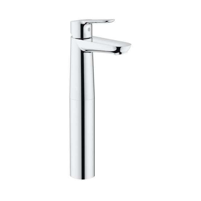 Grohe BauEdge Einhand-Waschtischbatterie, für freistehende Waschschüsseln, XL-Size ohne Ablaufgarnitur