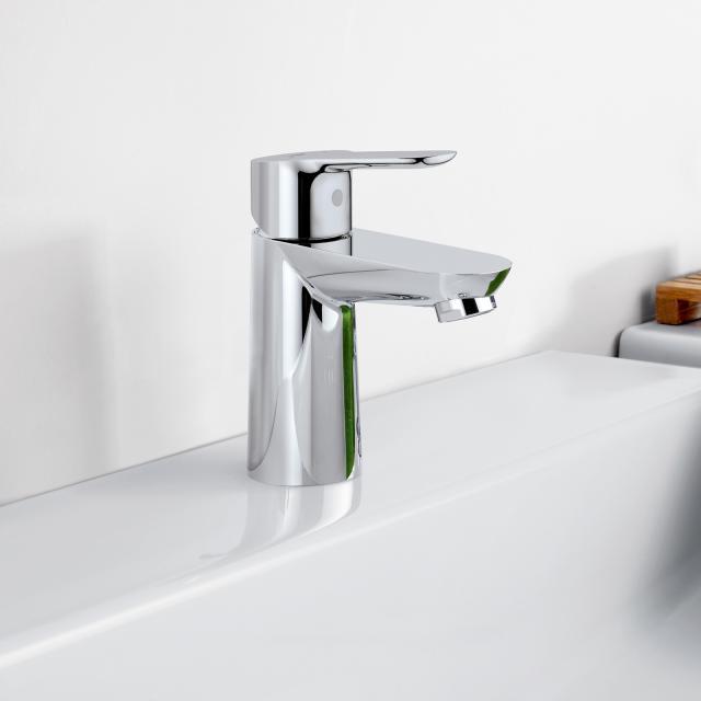 Grohe BauEdge Einhand-Waschtischbatterie, S-Size ohne Ablaufgarnitur