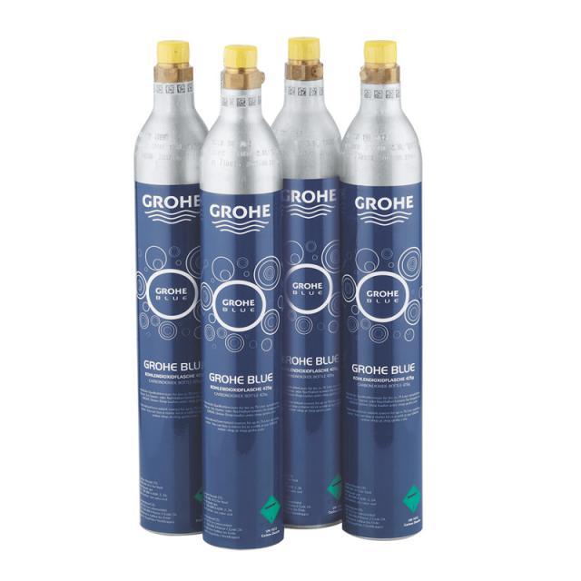 Grohe Blue Home Starter-Set CO2 Flaschen 425 gr (4 Stück)