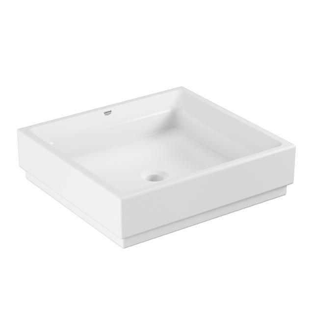 Grohe Cube Keramik Aufsatzwaschtisch, weiß, mit PureGuard Hygieneoberfläche