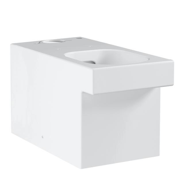 Grohe Cube Keramik Stand-Tiefspül-WC für Kombination, weiß, mit PureGuard Hygieneoberfläche