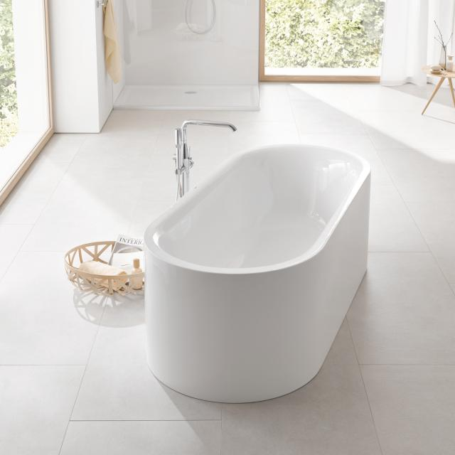 Grohe Essence Freistehende Oval-Badewanne ohne Überlauf