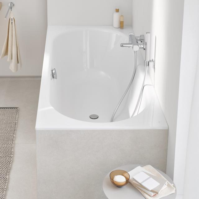 Grohe Essence Rechteck-Badewanne, Einbau weiß