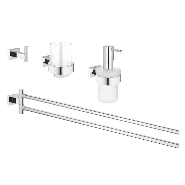 Grohe Essentials Cube Bad-Set 4 in 1 chrom