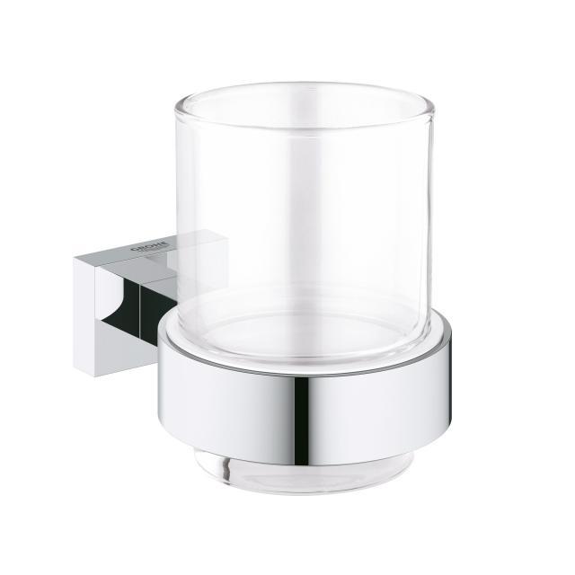 Grohe Essentials Cube Glas mit Halter