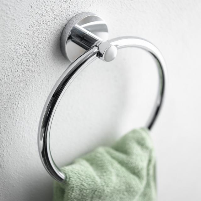 Grohe Essentials Handtuchring chrom