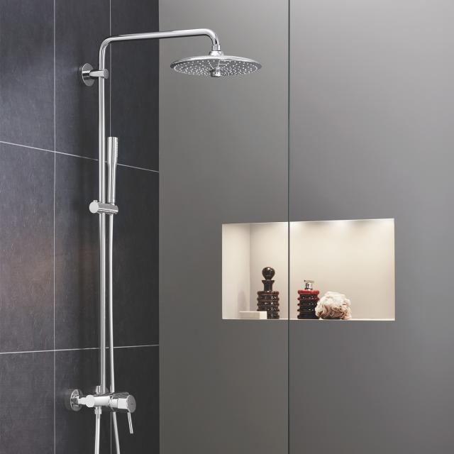 Grohe Euphoria Concetto System 260 Duschsystem mit Einhandmischer für Wandmontage, EcoJoy