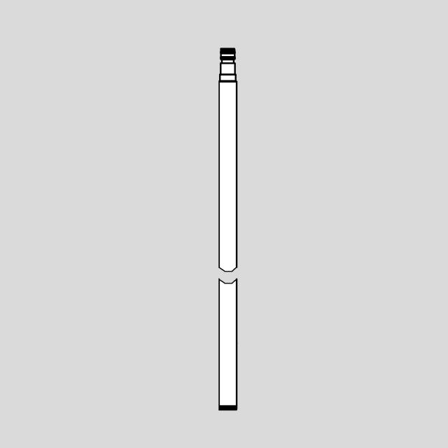 Grohe Euphoria SmartControl Mono Ersatz-Brauserohr für Duschsysteme, 15 cm länger als Original-Brauserohr
