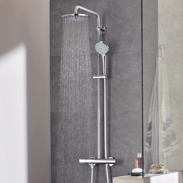 Grohe Euphoria XXL System 210 Duschsystem mit Thermostatbatterie für Wandmontage