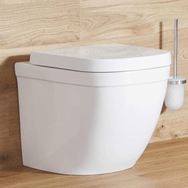 Grohe Euro Keramik Stand-Tiefspül-WC weiß, mit PureGuard Hygieneoberfläche