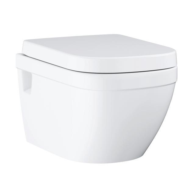 Grohe Euro Keramik Wand-Tiefspül-WC Set, mit WC-Sitz