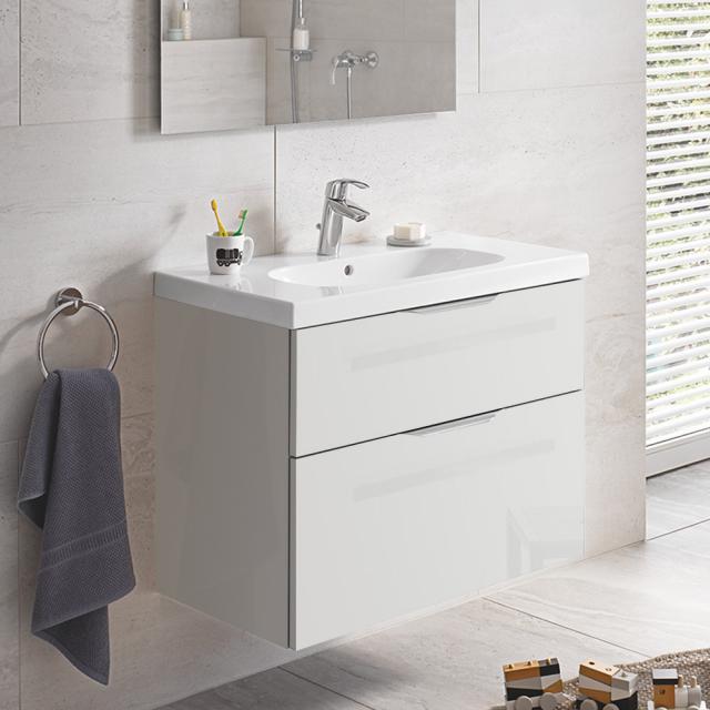 Grohe Euro Waschtisch mit Waschtischunterschrank mit 2 Auszügen