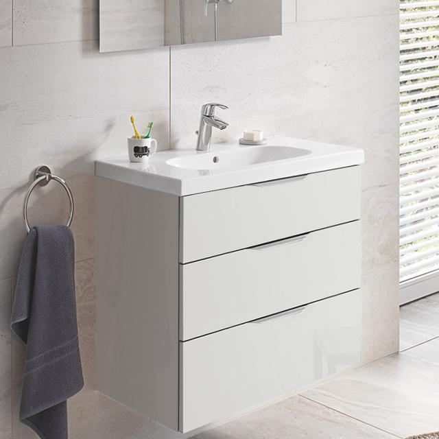 Grohe Euro Waschtisch mit Waschtischunterschrank mit 3 Auszügen