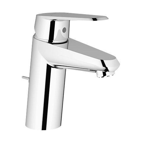Grohe Eurodisc Cosmopolitan Einhand-Waschtischbatterie, für offene Warmwasserbereiter, S-Size mit Ablaufgarnitur