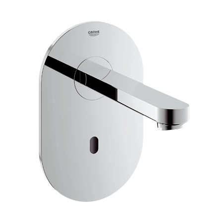 Grohe Euroeco CE Infrarot-Wand-Waschtischarmatur, ohne Temperaturregulierung