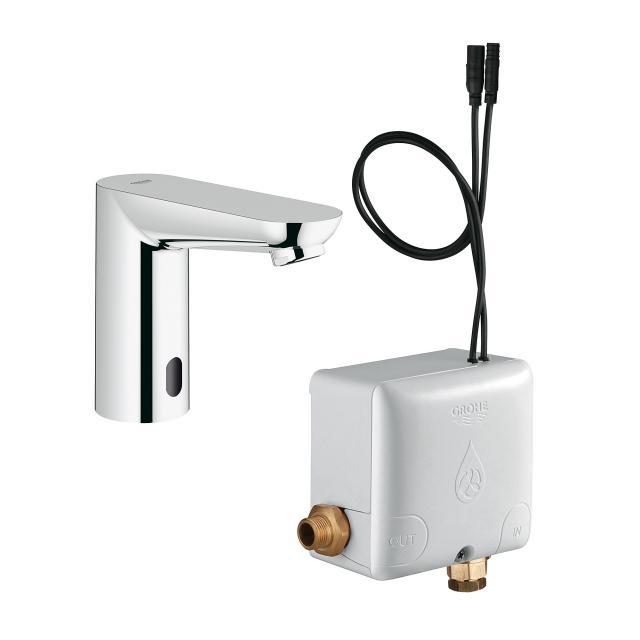 Grohe Eurosmart CE Infrarot-Waschtischarmatur, mit Temperaturregulierung, mit Powerbox