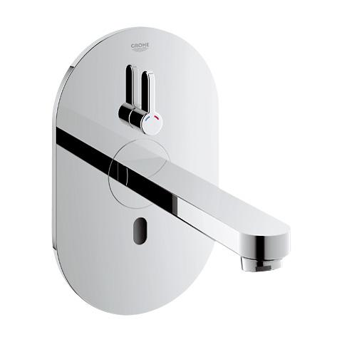 Grohe Eurosmart CE Bluetooth Infrarot-Wand-Waschtischarmatur, mit Temperaturregulierung