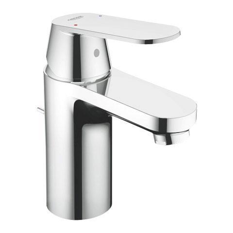 Grohe Eurosmart Cosmopolitan Einhand-Waschtischbatterie, für offene Warmwasserbereiter, S-Size mit Ablaufgarnitur