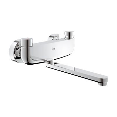 Grohe Eurosmart CT Selbstschluss-Waschtischbatterie mit Mischung, für Wandmontage Ausladung: 277 mm