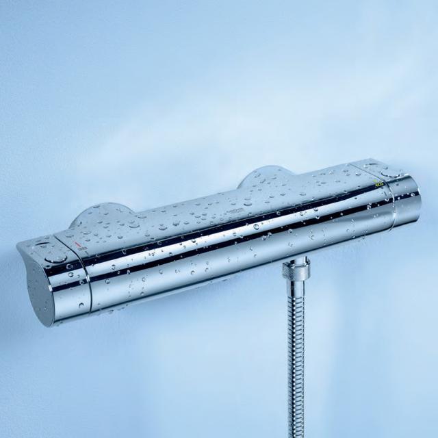 Grohe Grohtherm 2000 Thermostat-Brausebatterie, DN15 für Wandmontage