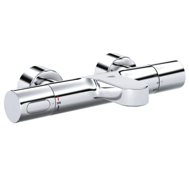 Grohe Grohtherm 3000 Cosmopolitan Thermostat-Wannenbatterie mit Grohe SafeStop