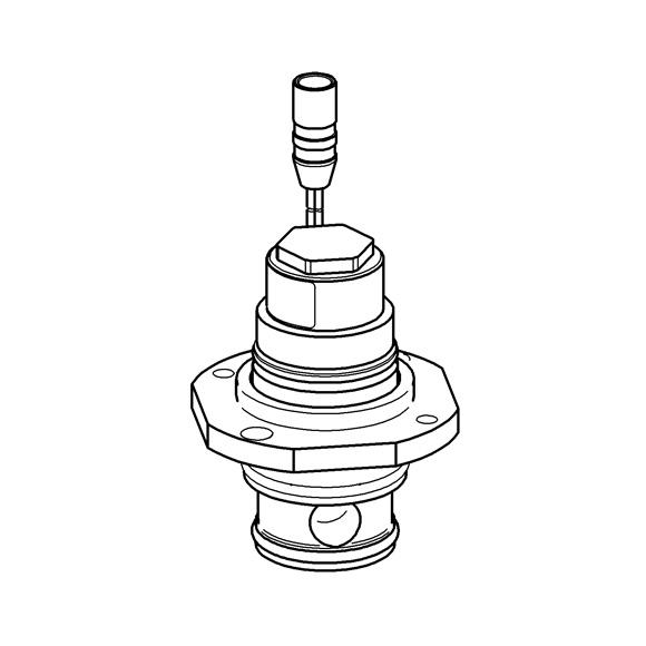 Grohe Magnetventil 42791 komplett für Tectron 505