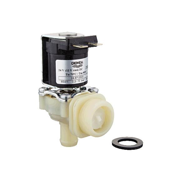 Grohe Magnetventil 42822 für Druckspüler Wandeinbau mit elektronischer Betätigung