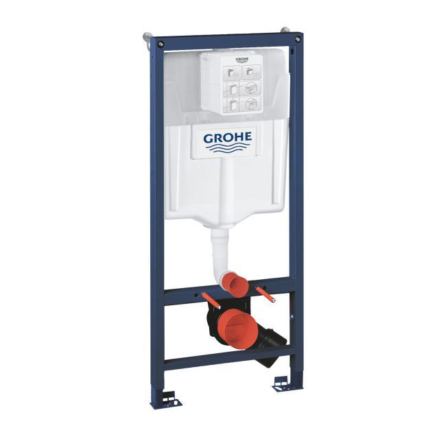 Grohe Rapid SL Set 2 in 1 Montageelement für WC, H: 113 cm, Spülkasten GD 2 mit Wandwinkel