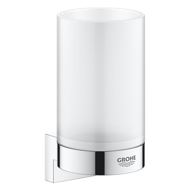 Grohe Selection Glas mit Halter chrom