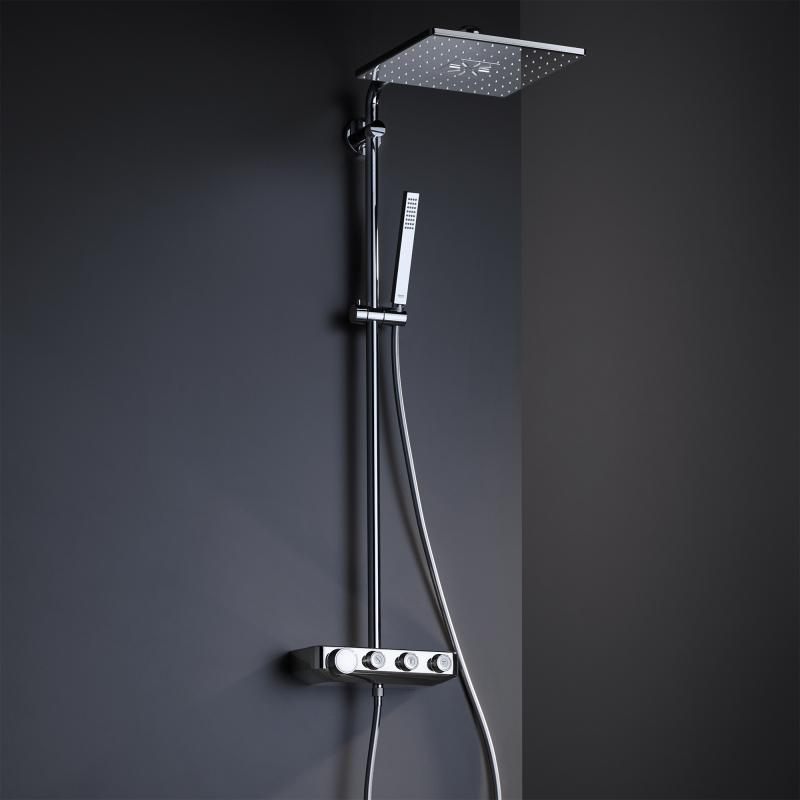 grohe euphoria smartcontrol system 310 cube duo chrom 26508000 reuter. Black Bedroom Furniture Sets. Home Design Ideas