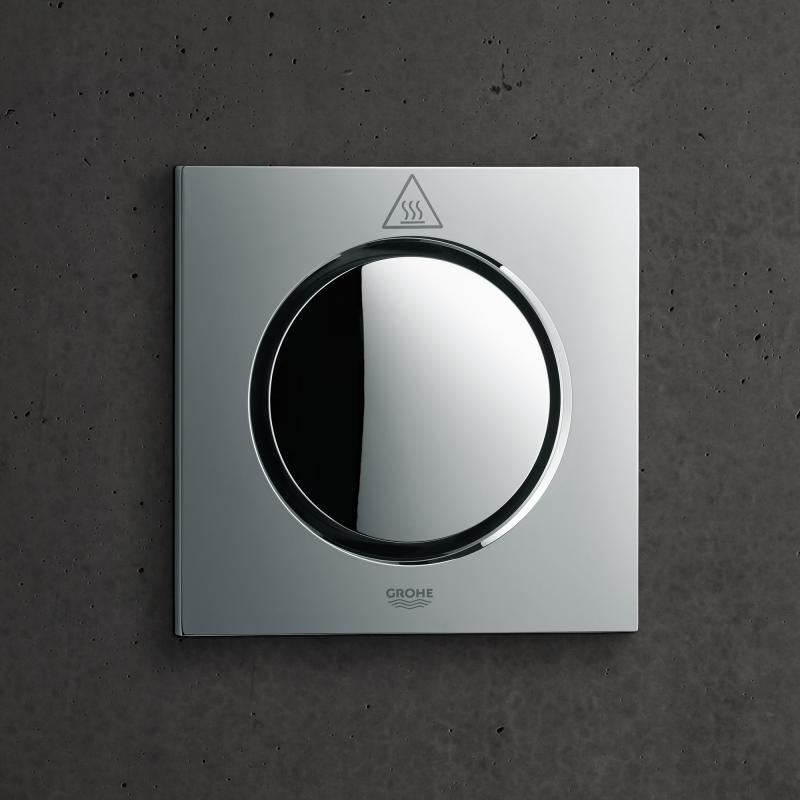 grohe f digital deluxe dampfgenerator mit dampfauslass und temperaturf hler 27934000 reuter. Black Bedroom Furniture Sets. Home Design Ideas